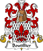 Coat of Arms from France for Boutillier