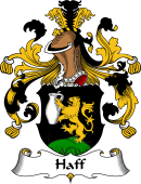 German Wappen Coat of Arms for Haff