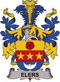 Danish Coat of Arms for Elers