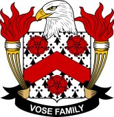 American Coat of Arms for Vose