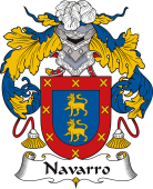 Spanish Coat of Arms for Navarro