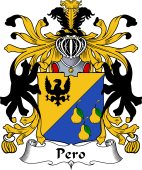 Italian Coat of Arms for Pero