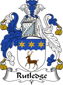 Irish Coat of Arms for Rutledge