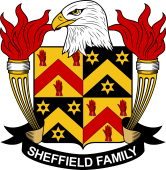 American Coat of Arms for Sheffield