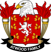 American Coat of Arms for Atwood