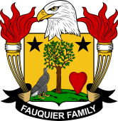 American Coat of Arms for Fauquier