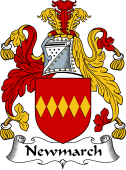 English Coat of Arms for Newmarch