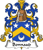 Coat of Arms from France for Bonnaud or Bonnault