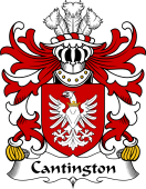 Welsh Coat of Arms for Cantington (of Trewilym, Pembrokeshire)