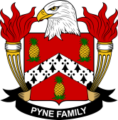 American Coat of Arms for Pyne