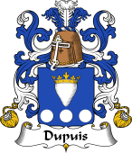 Coat of Arms from France for Dupuis
