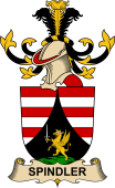 Republic of Austria Coat of Arms for Spindler