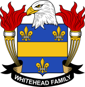 American Coat of Arms for Whitehead