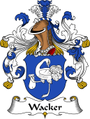 German Wappen Coat of Arms for Wacker