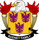 American Coat of Arms for Rodney