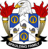 American Coat of Arms for Spaulding