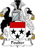 English Coat of Arms for Poulter