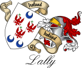 Sept (Clan) Coat of Arms from Ireland for Lally (O'Mullally)