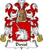 Coat of Arms from France for Duval II