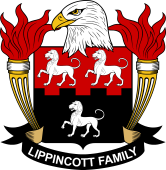 American Coat of Arms for Lippincott