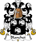 Coat of Arms from France for Blanchet