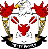 American Coat of Arms for Petty