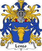 Italian Coat of Arms for Lenzo