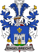 Swedish Coat of Arms for Engelbrecht