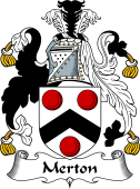 Scottish Coat of Arms for Mertoun or Merton