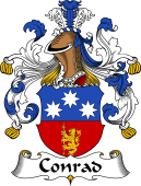 German Wappen Coat of Arms for Conrad
