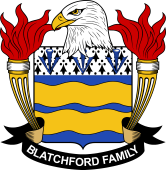 American Coat of Arms for Blatchford