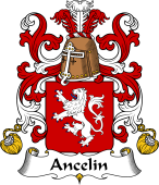 Coat of Arms from France for Ancelin