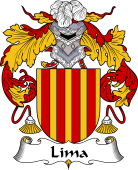 Portuguese Coat of Arms for Lima