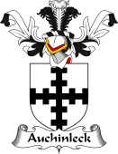 Coat of Arms from Scotland for Auchinleck