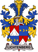 Danish Coat of Arms for Lichtenberg