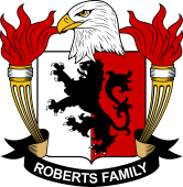 American Coat of Arms for Roberts