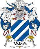 Spanish Coat of Arms for Valdés I