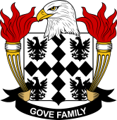 American Coat of Arms for Gove