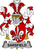 Irish Coat of Arms for Sarsfield