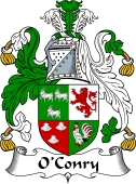 Irish Coat of Arms for O'Conry