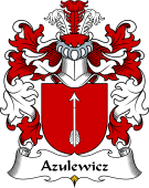 Polish Coat of Arms for Azulewicz