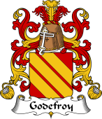 Coat of Arms from France for Godefroy