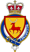 Families of Britain Coat of Arms Badge for: McCartney (Ireland)