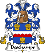 Coat of Arms from France for Deschamps
