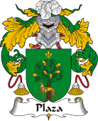Spanish Coat of Arms for Plaza