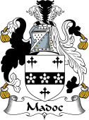 Irish Coat of Arms for Madoc or Madox
