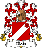 Coat of Arms from France for Blais