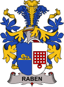 Danish Coat of Arms for Raben