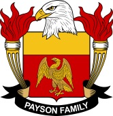 American Coat of Arms for Payson