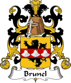 Coat of Arms from France for Brunel